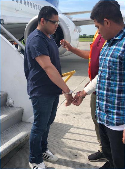 ERO removes fugitive MS-13 gang member to El Salvador