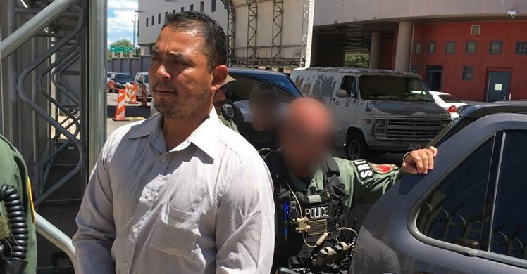 Ysidro Mendoza-Guzman, a Mexican national wanted in his native country for aggravated homicide - deported August 2017