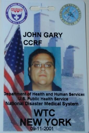 CDR John Gary's ID