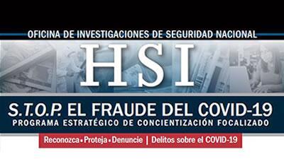 S.T.O.P. el Fraude del COVID-19