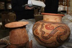 ICE officials return pre-Columbian artifacts to Panama