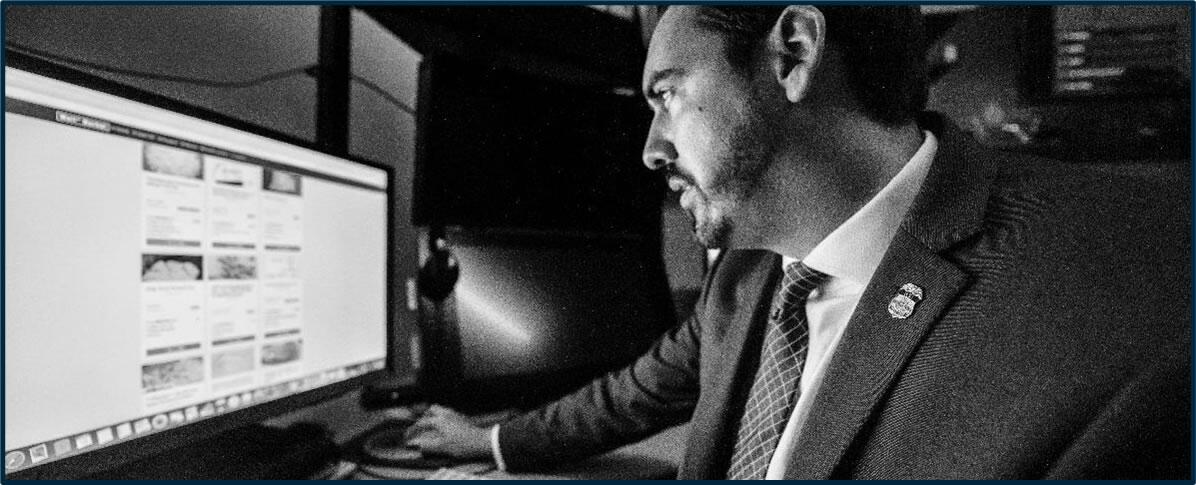 HSI Criminal Analysts identify and analyze cybercrimes.