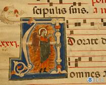 Italian Repatriation - Illuminated Choir Book manuscript
