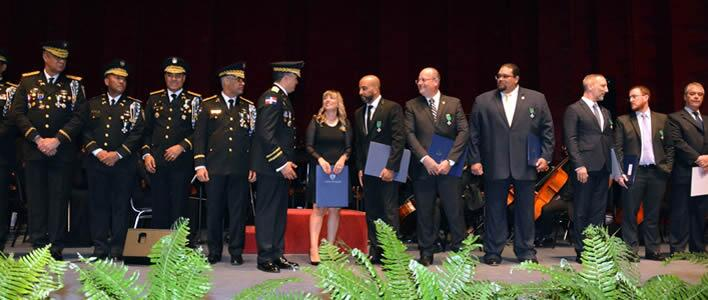 Dominican Republic National Police recognizes ICE HSI Santo Domingo