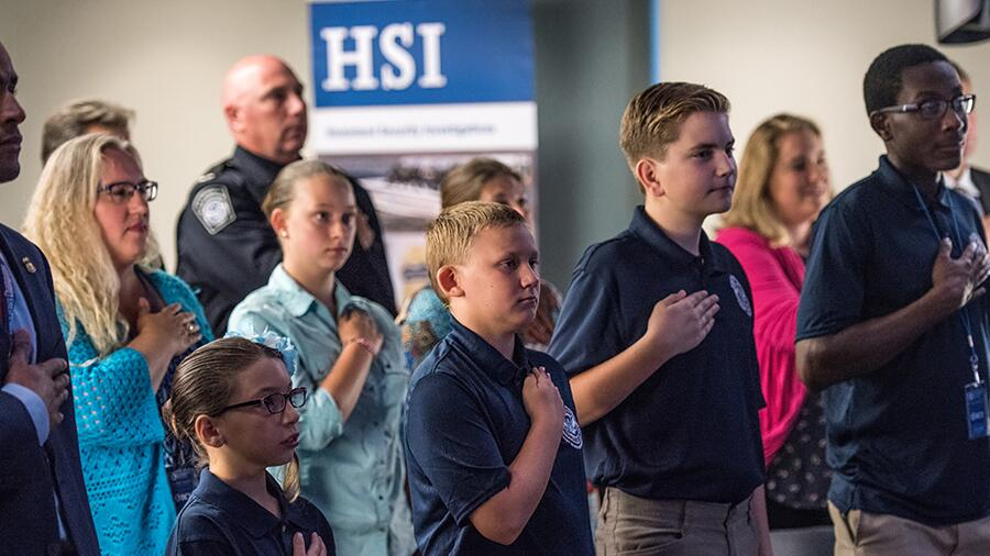 ICE holds graduation for HSI Cadet Program