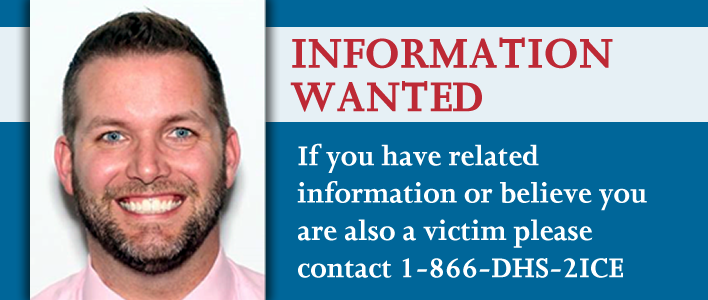 ICE HSI seeks public's help to identify additional victims in child exploitation case