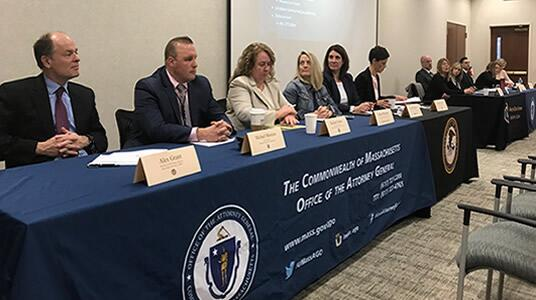 ICE HSI Boston special agent leads presentation at large anti-human trafficking networking, education event in western Massachusetts