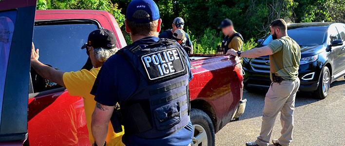 ICE New Orleans arrests 33 during week-long fugitive, criminal alien surge