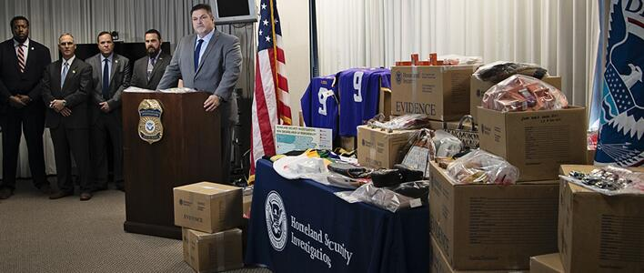 ICE HSI New Orleans seizes $8 million in counterfeit goods during pre-holiday IPR surge operation