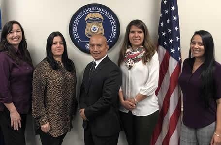 Oficiales de ICE ERO Orlando reciben a la nueva cónsul general de Colombia y reiteran su compromiso con la transparencia y la colaboración