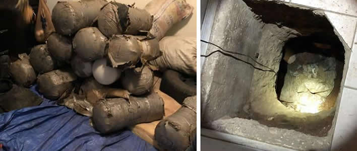 ICE HSI Nogales descubre narcotúnel