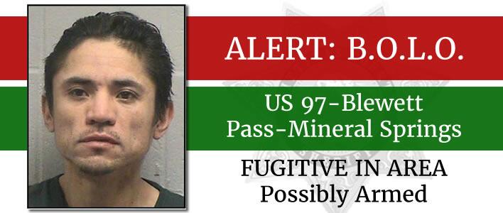 ICE joins local law enforcement partners in manhunt for criminal alien wanted in connection with missing person investigation