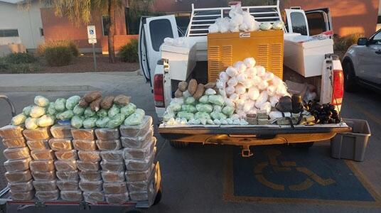 Multi-agency task force seizes cache of hard narcotics worth over 1 million dollars