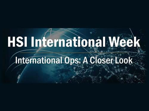 HSI International Week
