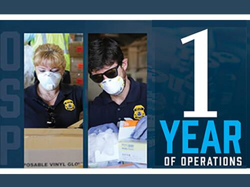 ICE HSI marks the anniversary of Operation Stolen Promise with $48M in COVID-19 fraud proceeds, 21.2M fake respirator masks seized