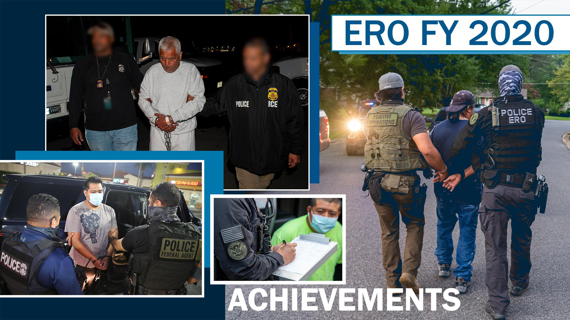 ERO FY 2020 Achievements