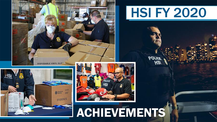 HSI FY 2020 Achievements