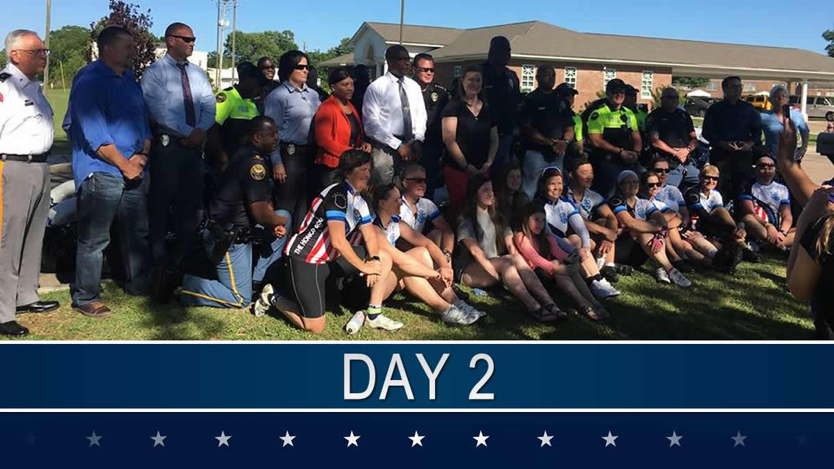 2017: Honor Roll Ride - Day 2