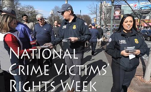 Web Feature: National Crime Victims' Rights Week