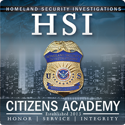 HSI Citizens Academy
