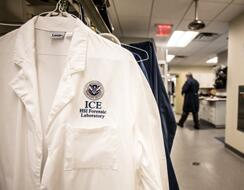 HSI-FL: Lab Coats with HSI-FL patch