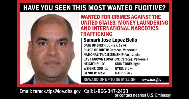 Most Wanted: Lopez Bello, Samark Jose