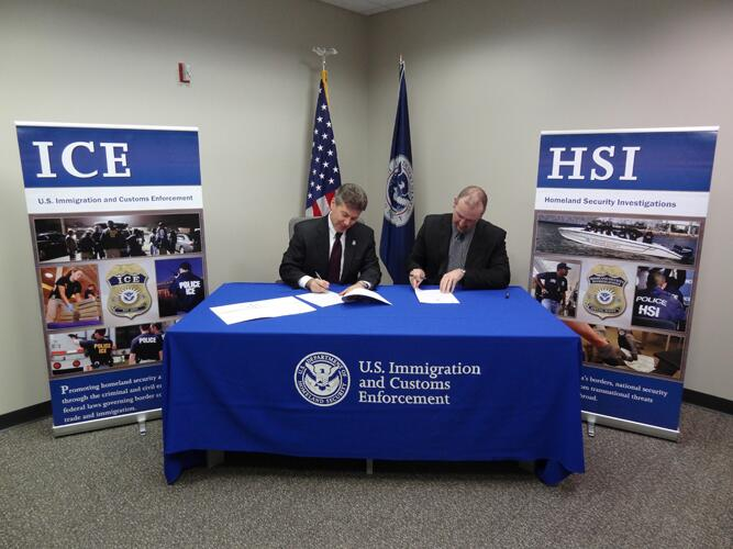 Ohio defense contractor partners with ICE for workforce integrity