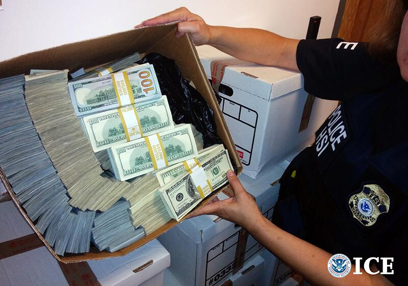 Large-scale law enforcement effort targets downtown Los Angeles businesses linked to money laundering for drug cartels