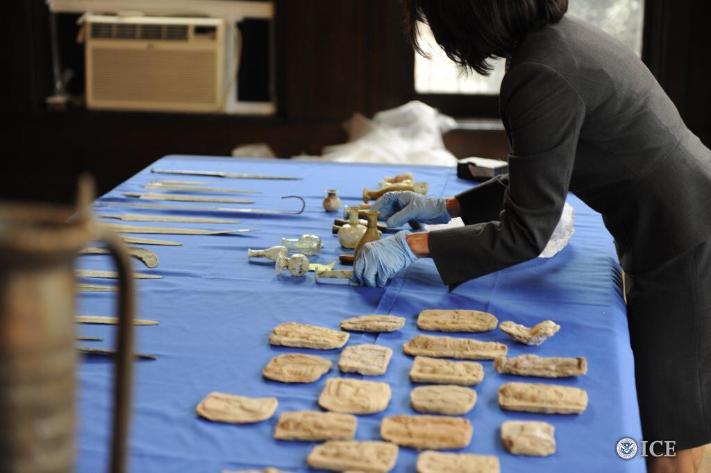 Ancient antiquities and Saddam Hussein-era objects returned to Iraq