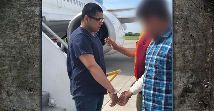 Pedro Juan Cruz-Cortez, 23, was flown to El Salvador July 31 on a charter flight coordinated by ICE Air Operations (IAO).