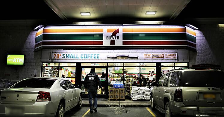 7-Eleven franchisee pleads guilty to harboring illegal aliens