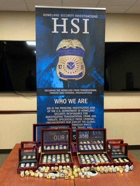 Ahead of NFL Conference Championship games – ICE, CBP seize NFL, NBA and MLB counterfeit championship rings