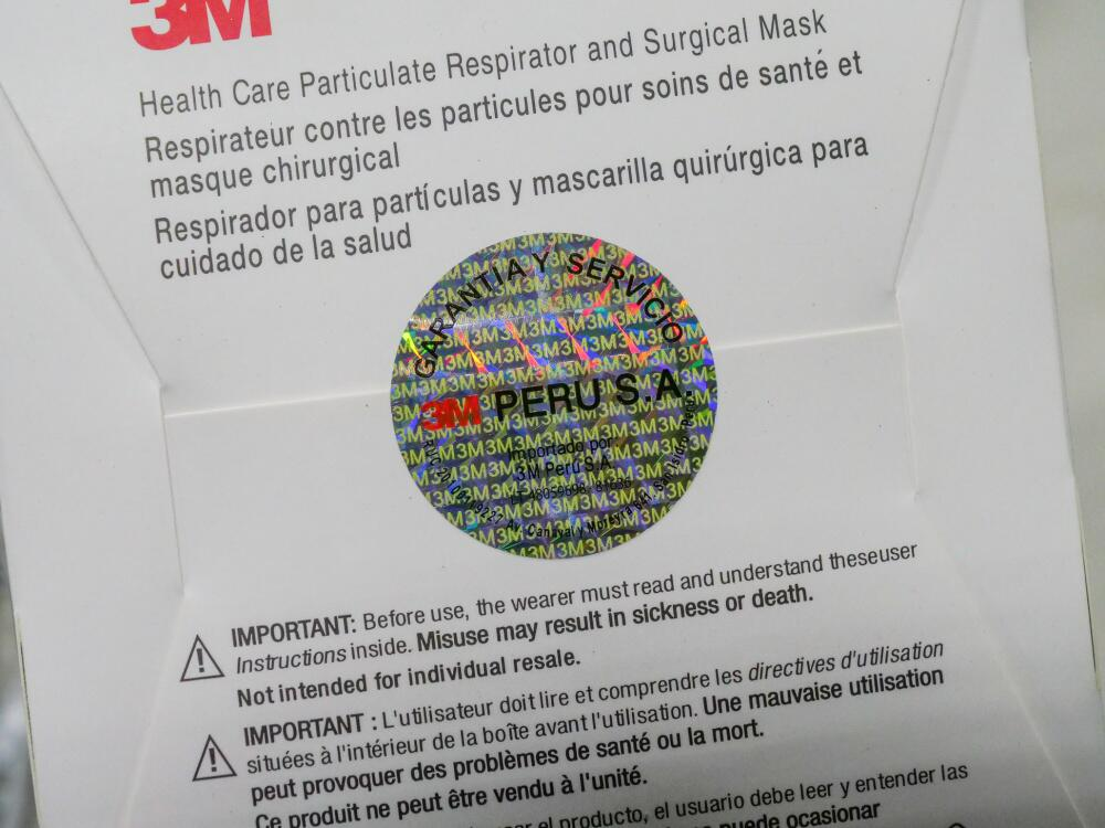 DHS prevents millions of counterfeit N95 masks from reaching hospital workers, first responders
