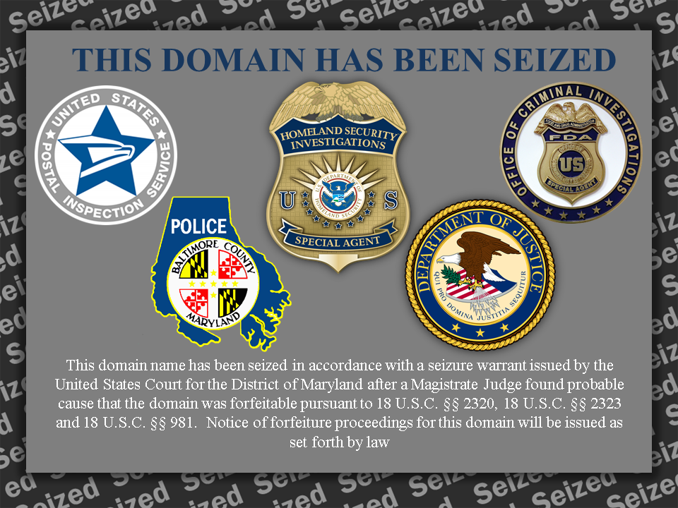 This domain has been seized