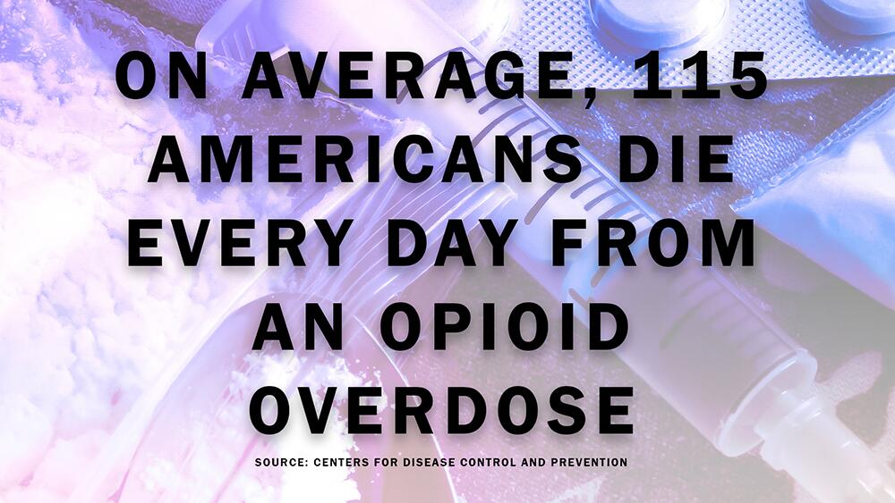 On Average, 115 Americans Die Every Day from an Opiod Overdose