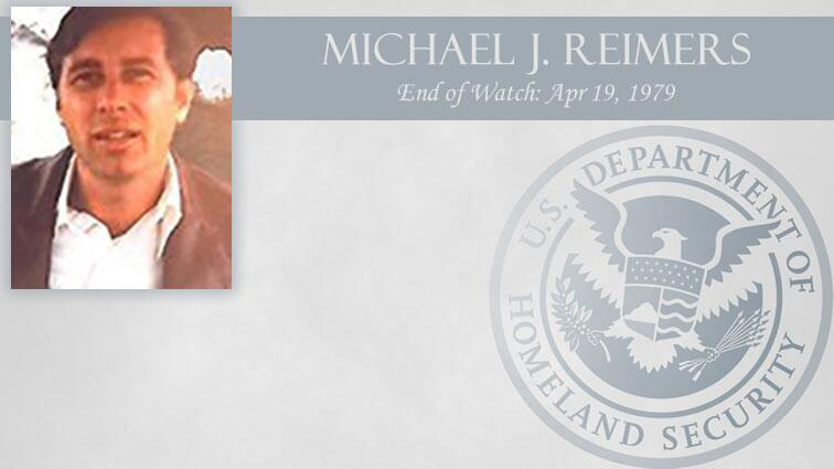 Michael J. Reimers: End of Watch Apr 19, 1979