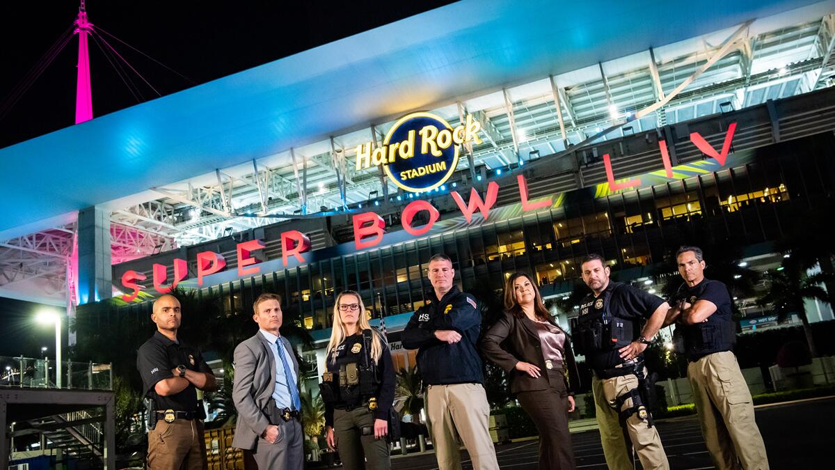 HSI at Super Bowl LIV