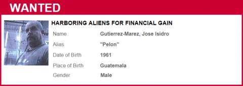 "Gutierrez-Marez, Jose Isidro aka ""Pelon"""