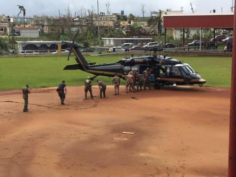 18 members of SAC Tampa's Special Response Team are working in Puerto Rico helping with hurricane response. They join another 18 members of SAC Tampa's Rapid Response Team, who have been on the ground for two weeks, in addition to teams from across the nation.