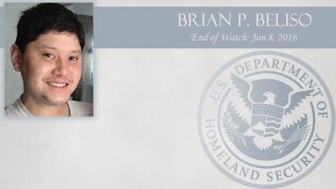 Brian P. Beliso: End of Watch Jun 8, 2016
