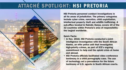 HSI Pretoria (South Africa)