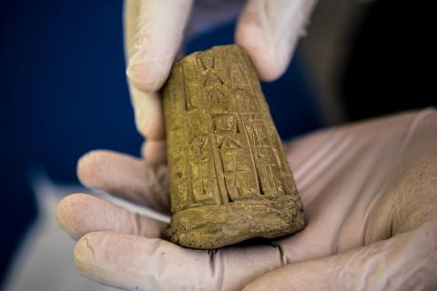ICE returns ancient artifacts to Iraq