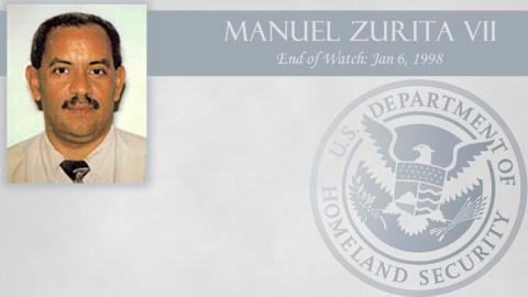 Manuel Zurita VII: End of Watch Jan 6, 1998