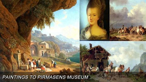 Paintings to Pirmasens Museum