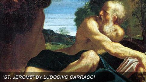"""St. Jerome"" by Ludovico Carracci"
