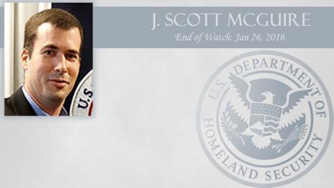 J. Scott McGuire: End of Watch Jan 26, 2016