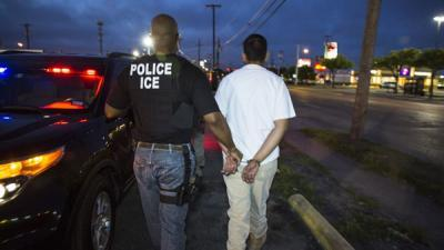 ICE ERO immigration arrests climb nearly 40%