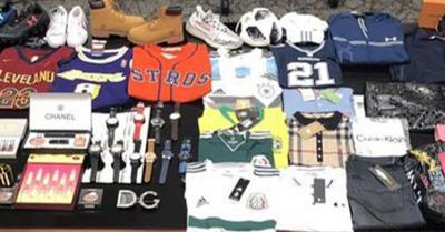 ICE seizes 181,000 counterfeit items worth nearly $43 million in Laredo, Texas