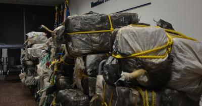 ICE, Coast Guard; CBP seize 2,325 pounds of cocaine in Puerto Rico
