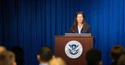 Ms. Alysa D. Erichs, (acting) executive associate director, U.S. Immigration and Customs Enforcement (ICE), Homeland Security Investigations (HSI), delivered remarks during the HERO Corps graduation ceremony at ICE Headquarters, Sept. 13, 2019.